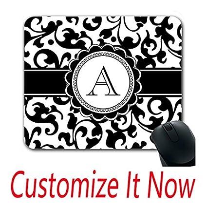 amazon com monogram fun mouse pads design custom design mouse pad
