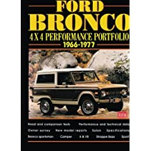 Ford Bronco 4X4 Performance Portfolio 1966-1977