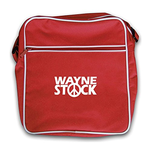 Dressdown WayneStock - Retro Flight Bag Red