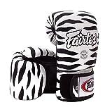 Fairtex Boxing Gloves BGV1 Limited Edition - Wild Amimal Collection (Zebra, 16 oz)