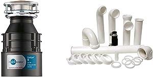 InSinkErator Garbage Disposal, Badger 5, 1/2 HP Continuous Feed,Black & Plumbcraft 7027450 Garbage Disposal Installation Kit