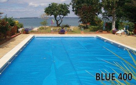 Swimming Pool Solar Cover 24x12 400 micron Plastica