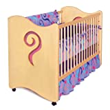 Room Magic RM22-GT Crib/Toddler Bed, Teaset