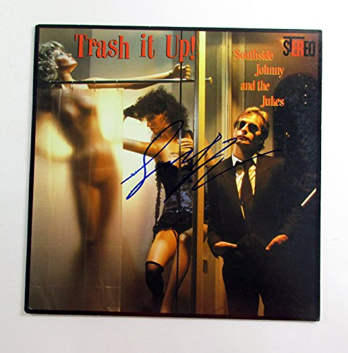 Southside Johnny Signed Lp Record Album With Asbury Jukes Trash It Up W  Auto