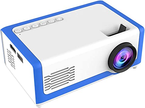Opinión sobre Vbestlife Mini proyector LED 1080P de Alta definición de Bolsillo de Cine en casa Reproductor de Medios Privado Cine en casa Proyector de películas portátil Proyector (Azul)