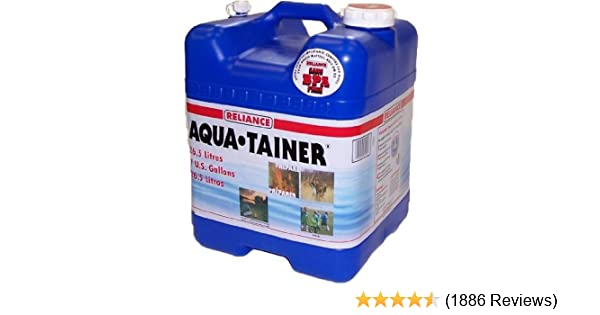 Reliance canister Aqua Tainer