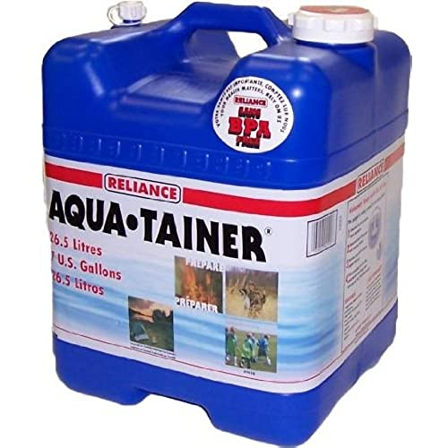 Reliance Products Aqua-Tainer 7 Gallon Rigid Water Container  sc 1 st  Amazon.com & Long Term Water Storage: Amazon.com