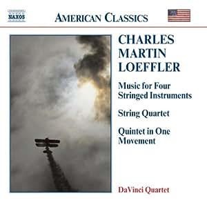 Loeffler: Music for 4 Stringed Instruments