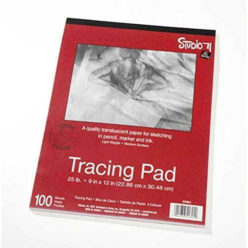 Large Product Image of Darice 9-Inch-by-12-Inch Tracing Paper, 100-Sheets (2 pack)