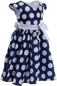 IBTOM CASTLE Baby Girls Tutu Minnie Birthday Prom Polka Dot Dress Mouse Clothes