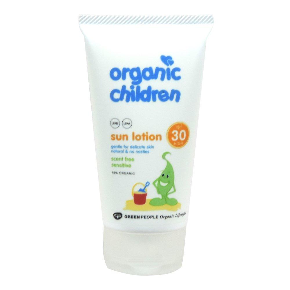 Organic Children - Sun Care - Sun Lotion SPF 30 - Scent Free - 150ml (Case of 6)