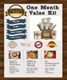 1 Month Value Long Term Pantry Supply of Freeze Dried Survival Food Kit for Emergency Preparedness - Valley Food Storage