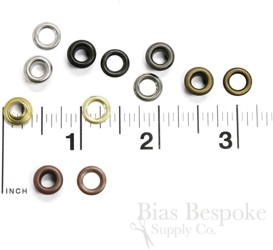Antique Copper Color Set of 144 Shay Size #00 Grommets 9.5mm