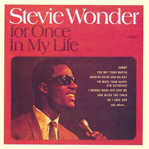 CD : Stevie Wonder - For Once in My Life
