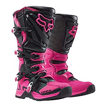 Image of 2018 Fox Racing Womens Comp 5 Boots-Black/Pink-7 Boots