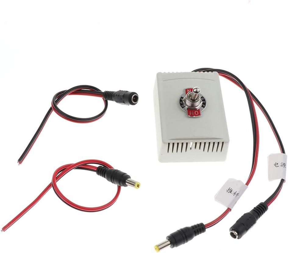 12V MagiDeal Interrupteur Inverseur ON-OFF /à Bascule Levier pour Actionneurs Lin/éaires DC Pole T/élescopique Commande Manuelle