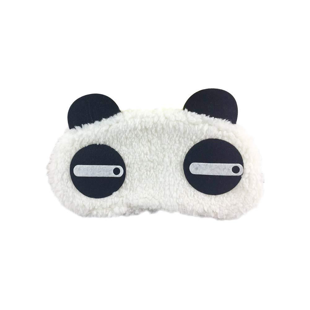 Billty Masque de sommeil Dessin anim/é Panda reste sommeil Eye Cover Blinder pour Nuit Voyage Bandeau pour les yeux