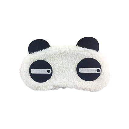 Haodou 1 unid Diseño de la Panda de Kawaii Gafas para Dormir Bien Estar Ojos Venta