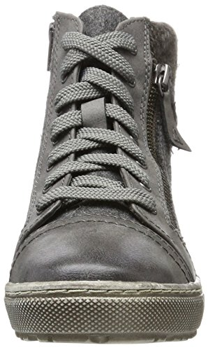 Trainers Jana Comb Graphite Grey 26205 Womens qfZXwgf