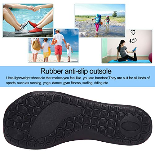 For Pool Exercise Quick Dry Beach Men Women and Surf Kids Lightweight WALUCAN Yoga black 5 01zq7