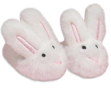 26ad2ce92c1b Amazon.com  Sophia s Bunny Doll Slippers