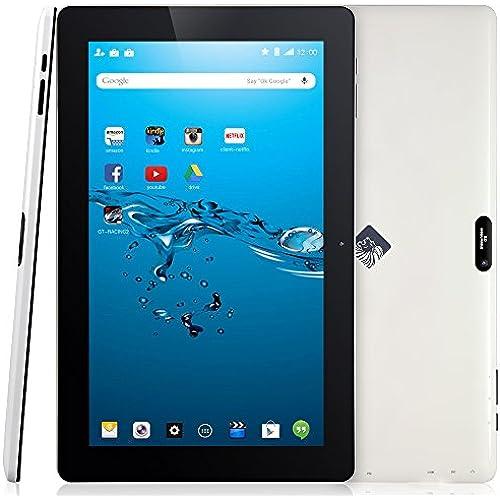 KingPad 10 inch Quad Core Android Tablet PC, 1GB RAM 16GB Nand Flash, IPS Display 1366x768, 2.0MP Camera w/AutoFocus Coupons