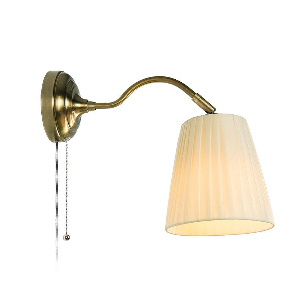 Wandleuchte Lampe Schlafzimmer Nordic Wandleuchte Nachttischlampe moderne amerikanische Wohnzimmer Gang kreative Wand