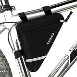 MOOCY Bicycle Bike Storage Bag Triangle Saddle