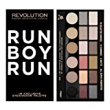 Makeup Revolution 18 Shade Eyeshadow Salvation Palette Run Boy Run Review
