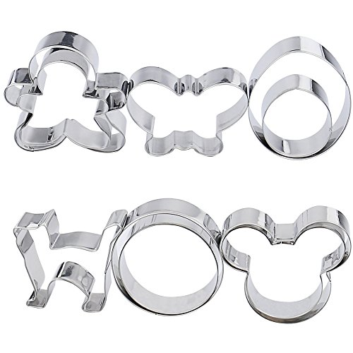 mickey mouse cookie cutter metal - 5