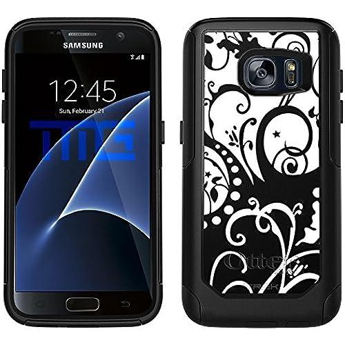 OtterBox Commuter Samsung Galaxy S7 Case - Black White Swirl OtterBox Case Sales