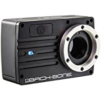 Back-Bone Ribcage Modified YI 4K Camera Sports & Action Video Camera, Black (BBRCY4KC)