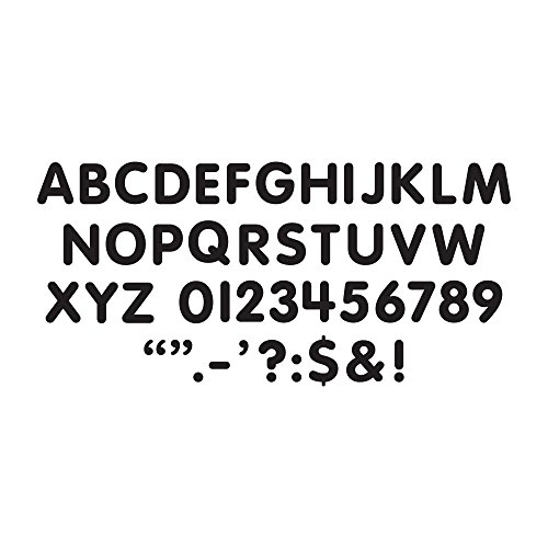 Trend Enterprises Letters, Numbers, & Marks STICK-EZE Stick-On Letters, 1