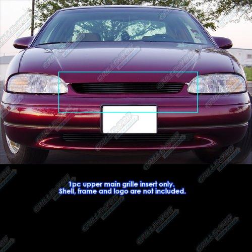 APS 1995-1999 Chevy Monte Carlo Black Billet Grille Grill Insert #S18-H60158C ()