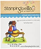 Stamping Bella Uptown Girls The Bench Buddies Cling Rubber Stamp, 6.5 x 4.5''