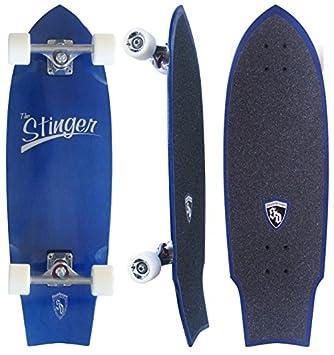 Amazon.com : Skate Designs Stinger 30 Cruiser Complete Skateboard ...
