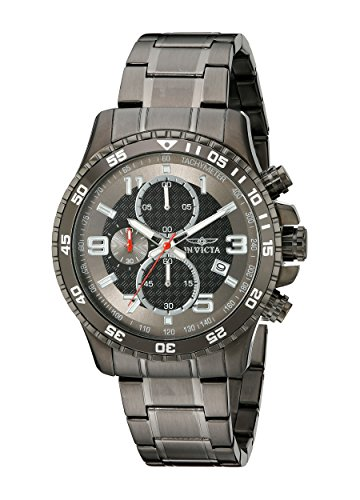 Invicta Men's 14879 Specialty Chronograph Stainless Steel Watch with Link Bracelet ()