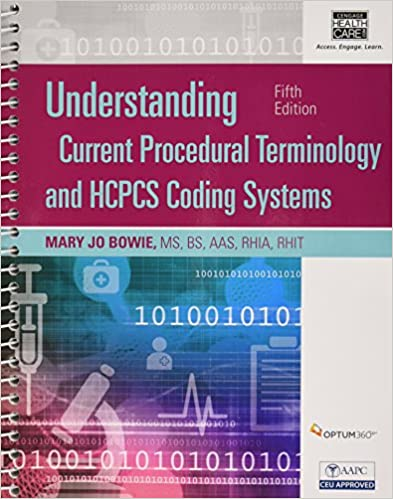 Understanding current procedural terminology and hcpcs coding understanding current procedural terminology and hcpcs coding systems fifth edition book only 5th edition fandeluxe Choice Image