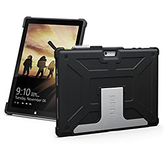 URBAN ARMOR GEAR UAG Microsoft Surface Pro 7/Pro 6/Pro 5th Gen (2017)/Pro 4 Metropolis Feather-Light Rugged [Black] Military Drop Tested Case