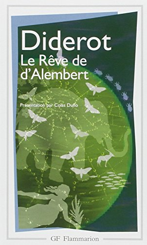Le Reve De d'Alembert (French Edition)