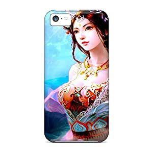 Fashion Protective Chinese Princess Case Cover For Iphone 5c