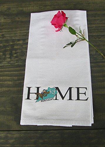 Kentucky Monkey - Kentucky State Towel, Kitchen Towel, Dish Towel, gift Idea