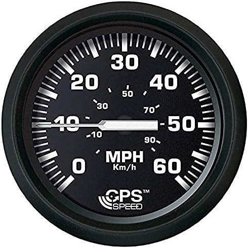 Faria 32816 Euro Speedometer Gauge 60 MPH GPS Studded-4