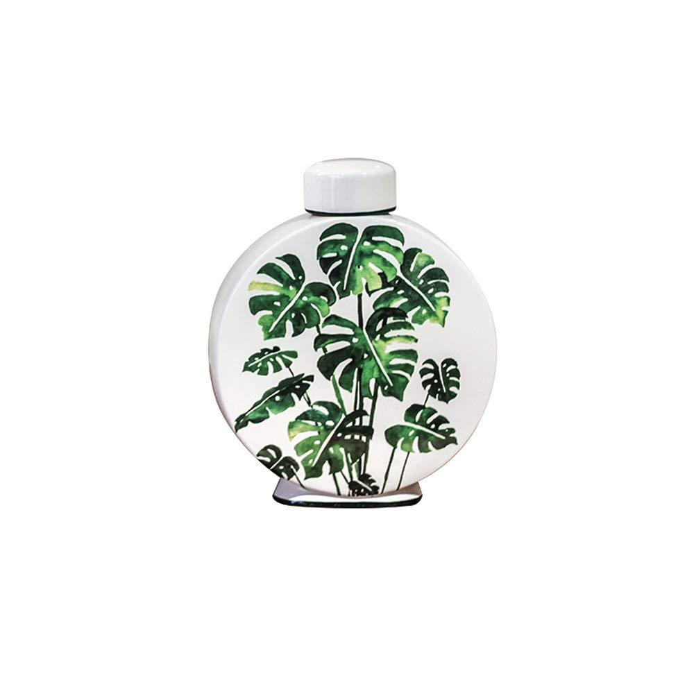 セラミック花瓶用花緑植物結婚式の植木鉢装飾ホームオフィスデスク花瓶花バスケットフロア花瓶 (サイズ さいず : S s) B07R8YW17Q  S s