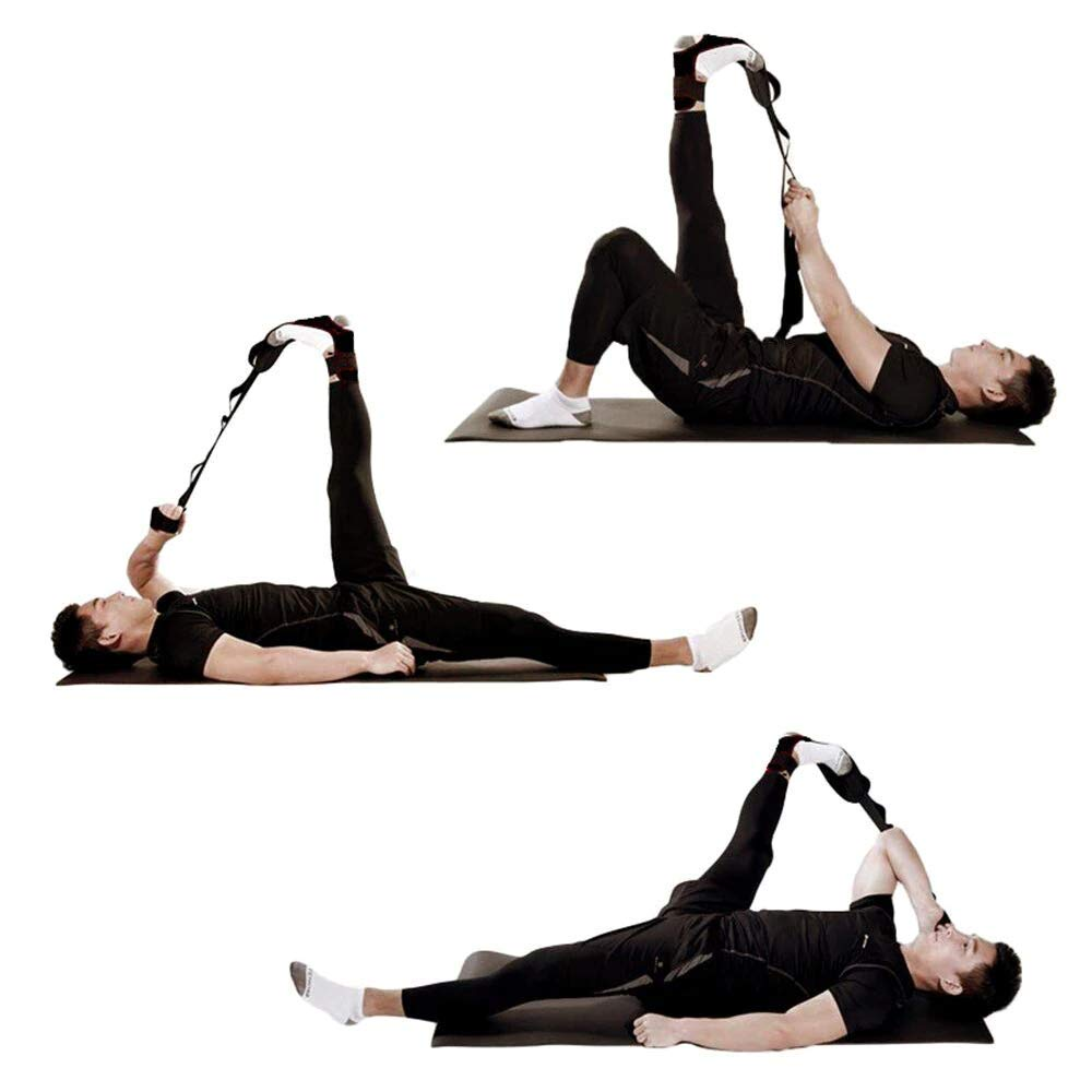 Amazon.com: Yoga Fitness Strap Hamstring and Ankle Ligament ...