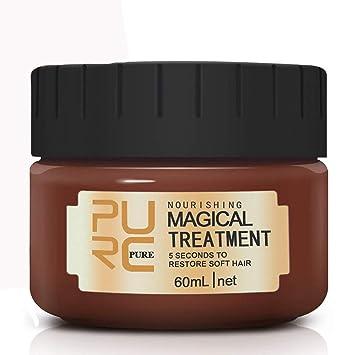 Amazon.com: Tratamiento del cabello Máscara mágica del pelo ...
