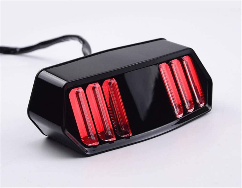 Creacom Moto LED Fanale Posteriore Indicatore di direzione Indicatori di Arresto del Freno Indicatore di direzione per Honda MSX125
