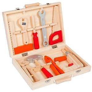 Janod 4506499 - Maletín de herramientas de juguete