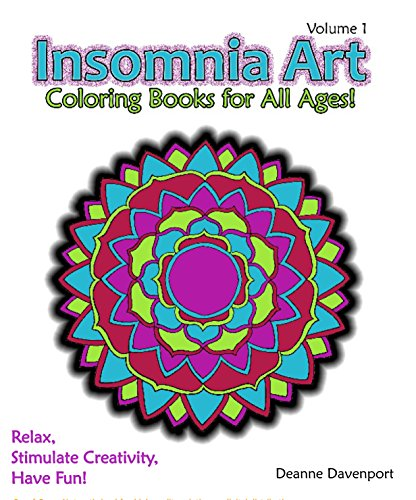 Insomnia Art Coloring Book