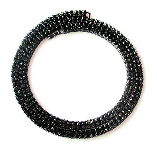 Black Diamond Crystal Necklace - 1